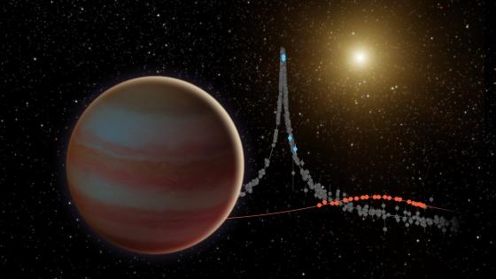 畫家筆下新發現的棕矮星