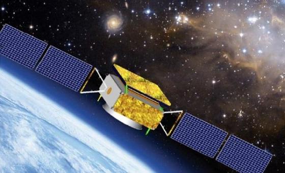 畫家筆下的暗物質粒子探測衛星