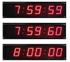 明年一月一日添加一閏秒