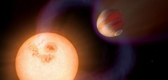 畫家筆下的系外行星加速母星自轉