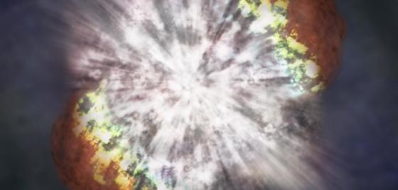 畫家筆下的超亮超新星幾何形状