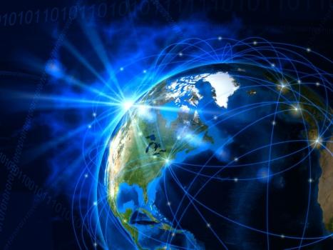 畫家筆下的全球巨型衛星網絡