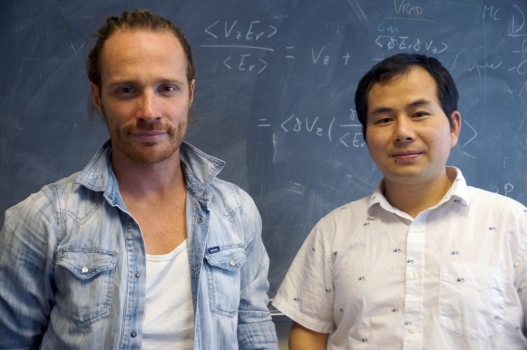 這次模擬計算中兩位主要的硏究人員