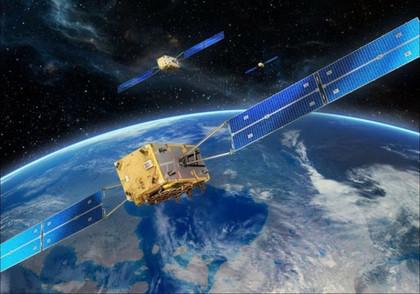 畫家筆下的伽利略衛星導航系統