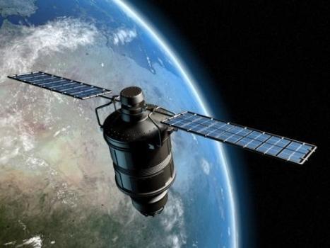 畫家筆下的墨子號量子科學實驗衛星