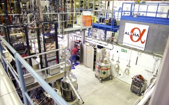 歐洲核子研究中心反氫激光物理裝置