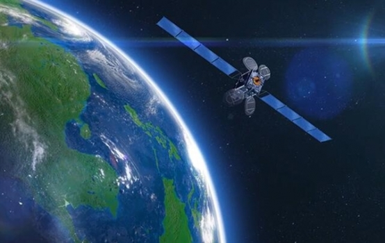 畫家筆下的中國全球二氧化碳監測科學實驗衛星