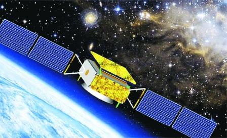畫家筆下的暗物質粒子探測衛星「悟空」