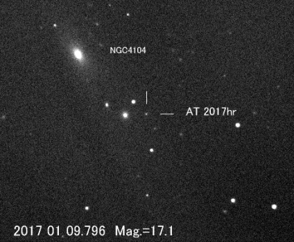 板垣公一拍攝的后髮座超新星發現照片