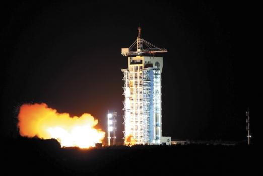 通訊技術試驗衛星二號發射情況