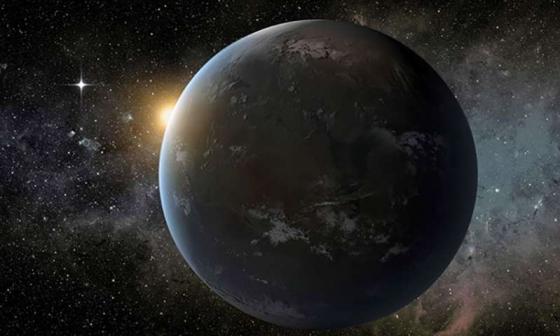 畫家構思的系外 行星