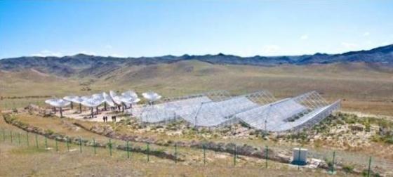 新疆烏拉斯台地區天籟實驗射電天線陣列