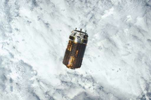 已經脫離國際太空站內鸛六號太空船