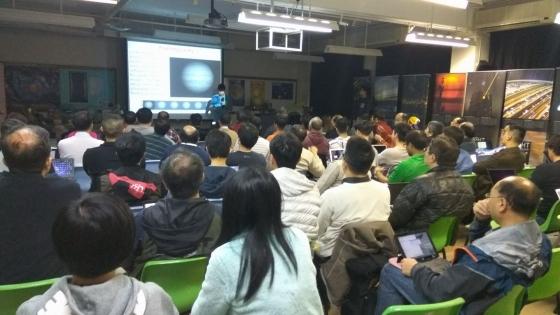 吳華鎮先生介紹高解像行星拍攝流程