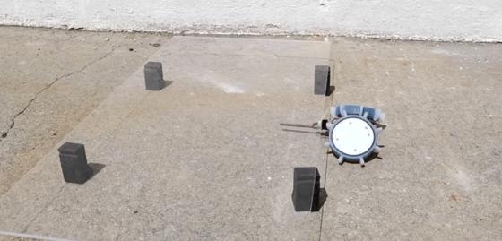 可以在狹窄環境下活動的微小機械人