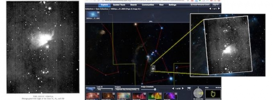 久違的圖像可以提供罕見和移動的星星
