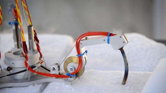 用於探索木衛二冰冷海洋世界的機械爪