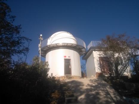 位於雲南高美古的中泰七十釐米全自動望遠鏡