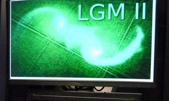 萊頓大學最細小的超級電腦模擬星系碰撞