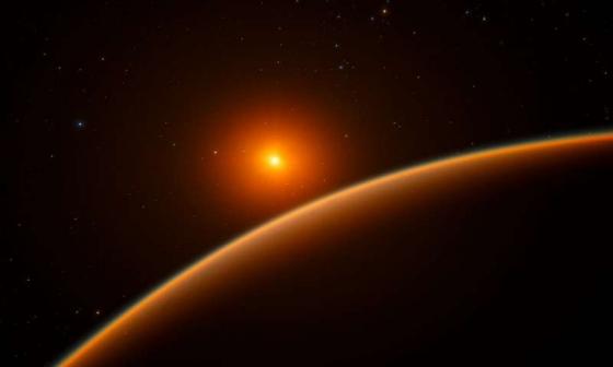 畫家構思的LHS 1140b類地等外行星