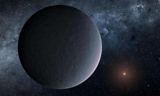 畫家筆下的冰凍行星