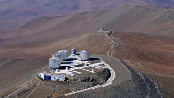 歐洲南方天文台甚大望遠鏡