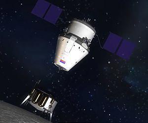 畫家筆下俄羅斯新一代聯邦載人太空船