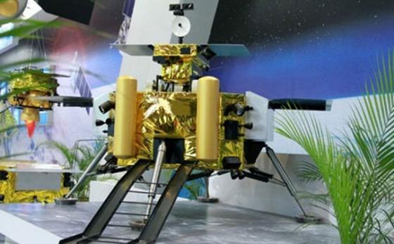 嫦娥四號展覽模型