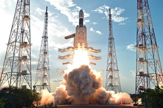 印度重型GSLV Mark III運載火箭發射情況
