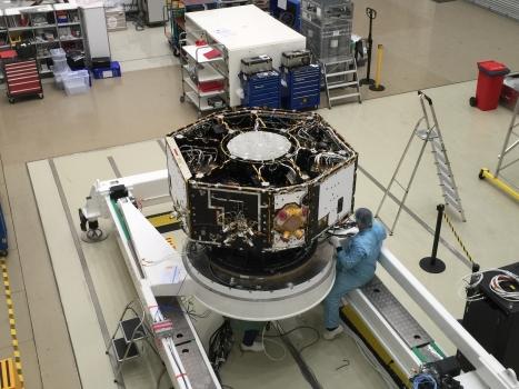 正在測試的激光干涉太空天線開路者號衛星
