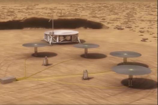 畫家構思火星上的模塊化核電站