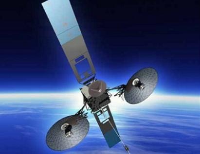 畫家筆下的TDRS-M衛星