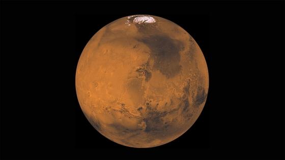 太空船拍攝的火星照片