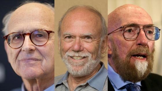 今屆諾貝爾物理學獎三位得主