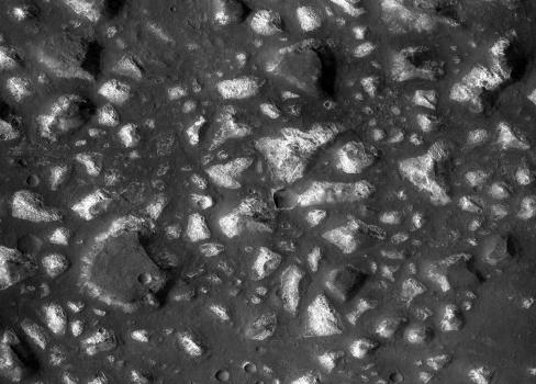 火星南部艾瑞達尼亞海的海底熱液沉積物