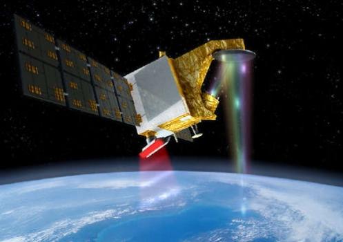 畫家筆下的中法合作海洋衛星
