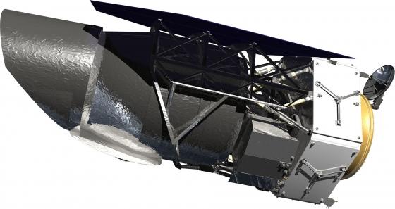 畫家筆下的廣角紅外巡天太空望遠鏡