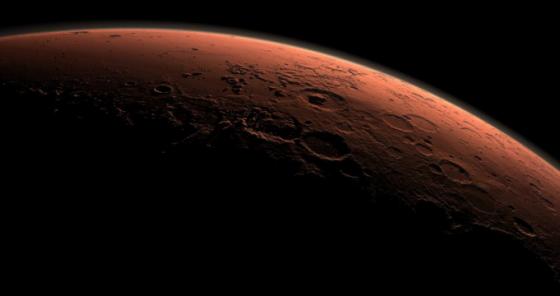 火星微弱的大氣缺乏人類存活的氧氣