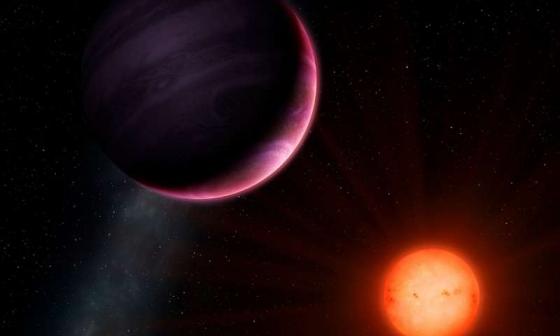 畫家筆下的巨型行星