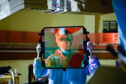 ZTF超廣角相機使用的濾鏡