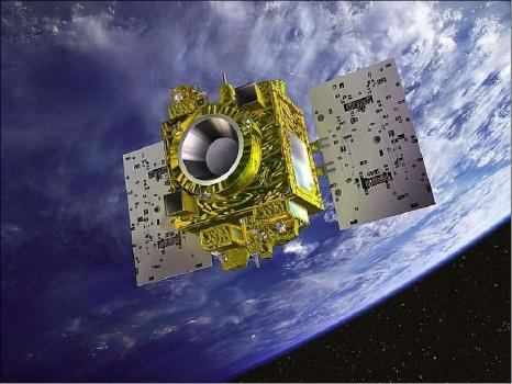 畫家筆下的法國微型衛星對等觀測系統