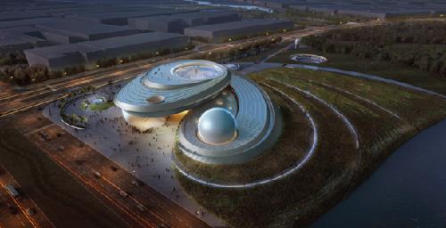 上海天文館設計圖
