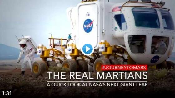 美國太空總署人類在火星探索的構想