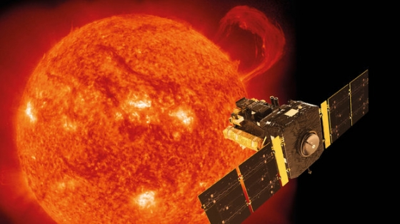 畫家筆下的太陽和太陽風層探測器