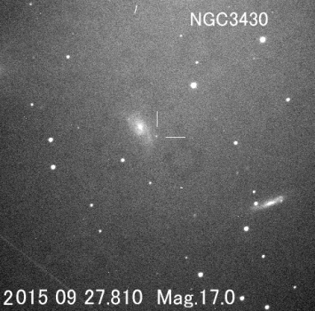 板垣公一其中一張超新星發現照片