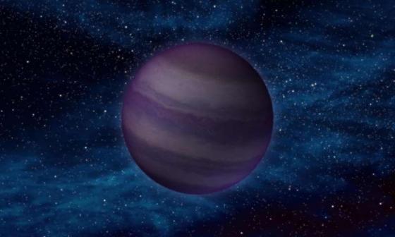 畫家筆下太陽系外部未發現的行星